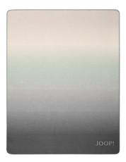 JOOP! Ombre Wohndecke 150 cm x 200 cm mintgrün-silbergrau Baumwollmischung