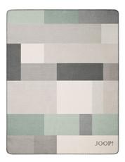 Wohndecke  JOOP!  Bold Mintgrün-Silber 150 x 200 cm aus Baumwollmischung