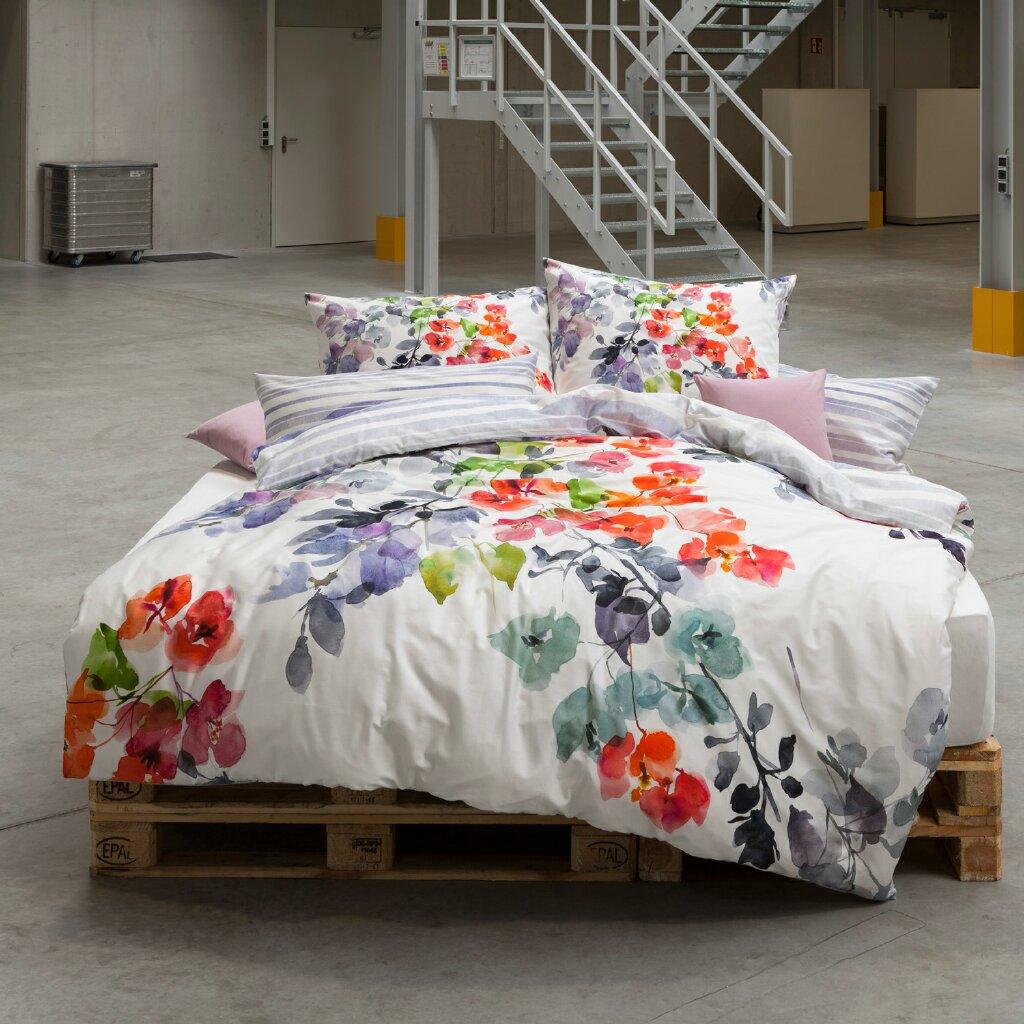 estella mako satin bettw sche bunch 4722 985 multicolor. Black Bedroom Furniture Sets. Home Design Ideas