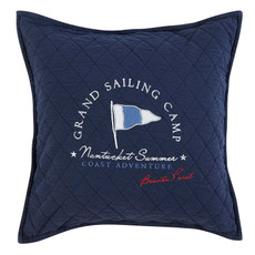 GRAND DESIGN  Kissen GRAND SAILING navy  50 x 50 cm
