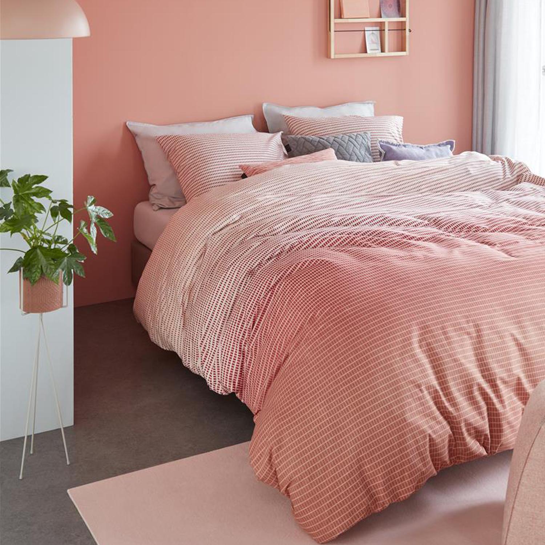 beddinghouse bettw sche baumwolle marmore terra blockmuster. Black Bedroom Furniture Sets. Home Design Ideas