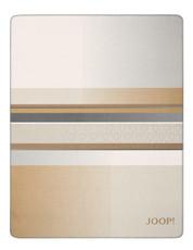 JOOP! Wohndecke Clash Camel-Pergament 150 cm x 200 cm Baumwollmischung
