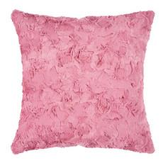 Pad Kissenhülle Bardot Felloptik pink 45 x 45 cm mit RV modern exklusiv
