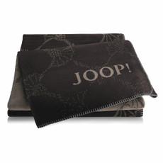 JOOP! Cornflowers Wohndecke Shiny-Black 150 cm x 200 cm Baumwollmischung