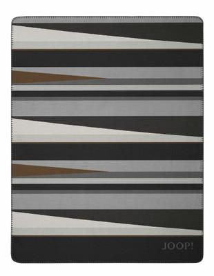 JOOP! Bright Wohndecke Moonlight-Grey 150 cm x 200 cm Baumwollmischung