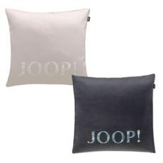 JOOP! Kissenhülle AVA 40 x 40 cm uni seidig glänzende Stoffstruktur Baumwolle