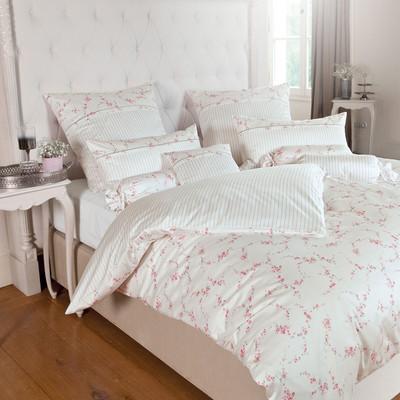 janine romantico bettw sche mako seidensatin 46009 01 rosa. Black Bedroom Furniture Sets. Home Design Ideas