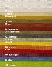 Pichler Tischset TWIST 35/48 cm, in 14 Farben