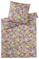 elegante Mako-Satin Bettwäsche Pinto 2260-2 multicolor Blumenmuster exklusiv