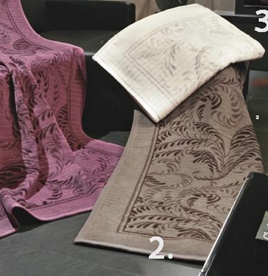 Biederlackborbo Wohndecke Exquisite Cotton Bellevu braun mit Lurex