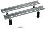 Poresta BW-Fuß Ferroplast B8 Standard bis 200 x 90 cm, für Acrylbadewannen