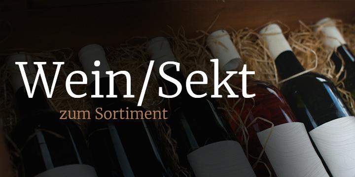 Wein / Sekt