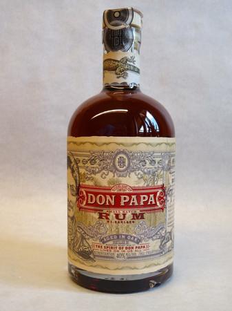 Rum DON PAPA 7 Jahre 40%vol 1x0,70L – Bild 1