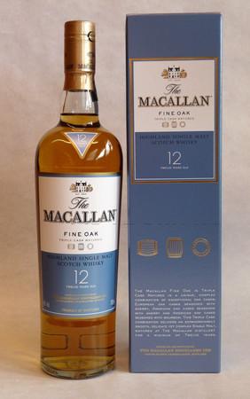 THE MACALLAN Fine Oak 12 Years - Single Speyside Malt Whisky 40% 1x0,70L