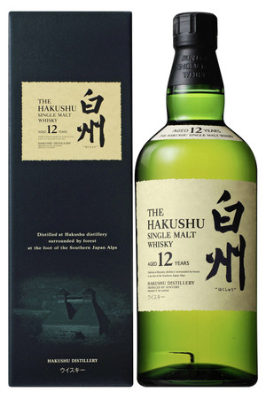 Hakushu 12 Jahre Single Malt Whisky Japan 43%vol. 1x0,70L
