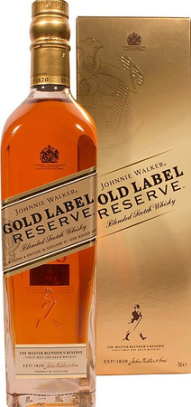 Johnnie Walker Gold Label - Blended Scotch Whisky 40%Vol. 1x0,7L – Bild 1