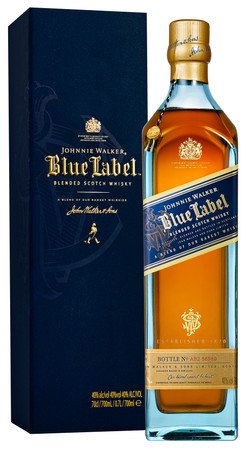 Johnnie Walker Blue Label - Blended Scotch Whisky 40%Vol. 1x0,7L