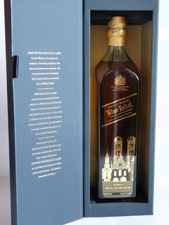 Johnnie Walker Blue Label München Edition - Blended Scotch Whisky 40%Vol. 1x0,7L – Bild 1