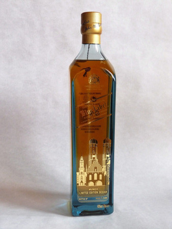 Johnnie Walker Blue Label München Edition - Blended Scotch Whisky 40%Vol. 1x0,7L – Bild 2