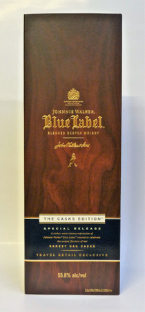 Johnnie Walker Blue Label The Cask Edition - Blended Scotch Whisky 55,8%Vol. 1 L – Bild 2