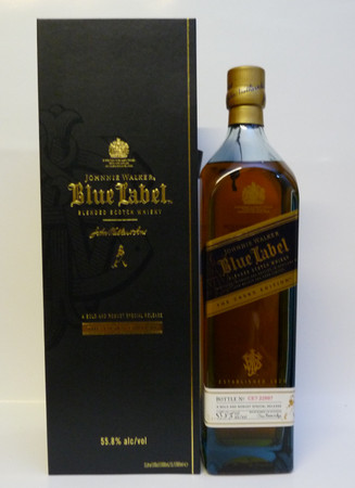 Johnnie Walker Blue Label The Cask Edition - Blended Scotch Whisky 55,8%Vol. 1 L – Bild 1