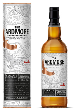 ARDMORE LEGACY -  Highland Single Malt Whisky 40% 1x0,70L  – Bild 1