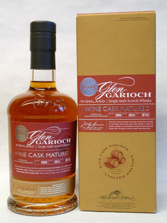 GLEN GARIOCH 1998 Wine Cask Matured - Single Highland Malt Whisky 48% 1x0,70L