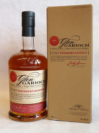 GLEN GARIOCH 1797 Founder's Reserve - Single Highland Malt Whisky 48% 1x1,0L