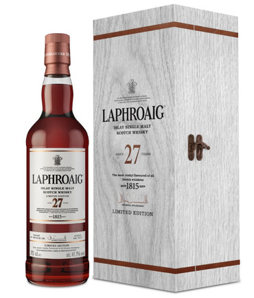 LAPHROAIG 27 Jahre (2017) -  Single Islay Malt Whisky 41,7% 1x0,70L