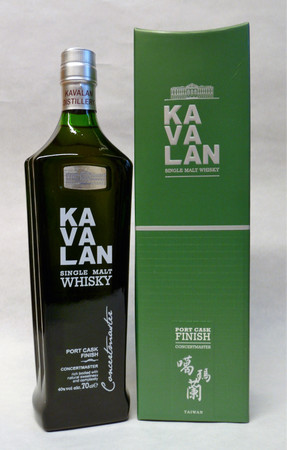 KAVALAN Concertmaster Port Cask Finish - Single Malt Whisky Taiwan 40%vol. 1x0,70L