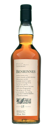 Benrinnes 15 Years Old Flora & Fauna 43%vol. 1x0,7L Speyside Single Malt