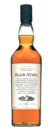Blair Athol 12 Years Old Flora & Fauna   Highland Single Malt Whisky 43%vol. 1x0,70L