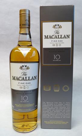 THE MACALLAN Fine Oak 10 Years - Single Speyside Malt Whisky 40% 1x0,70L