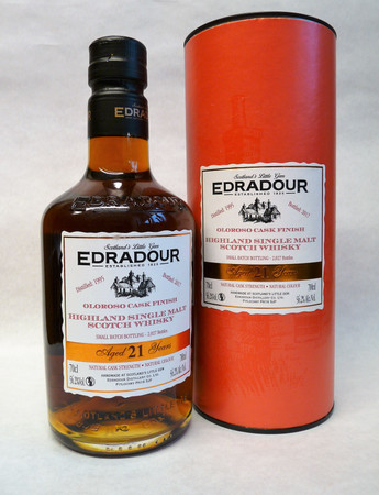 Edradour 21 y.o. 1995/2017 Oloroso Cask Finish - Single Highland Malt Scotch Whisky 56,2%vol 1x0,70L