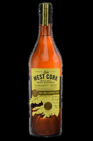 West Cork Glengarriff Series Bog Oak Charred Cask - Single Malt Irish Whiskey - 1x0,7L 43%