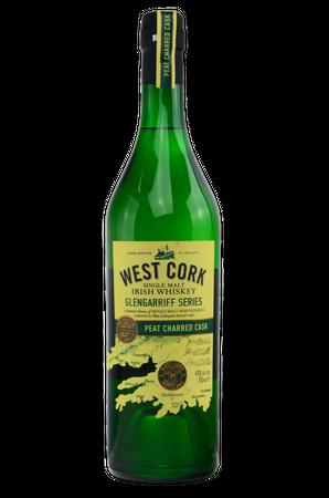 West Cork Glengarriff Series Peat Charred Cask - Single Malt Irish Whiskey - 1x0,7L 43%