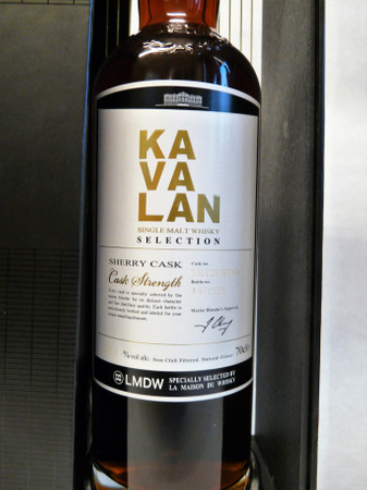 KAVALAN Selection Sherry Cask - Single Malt Whisky Taiwan 58,6%vol. 1x0,70L – Bild 2