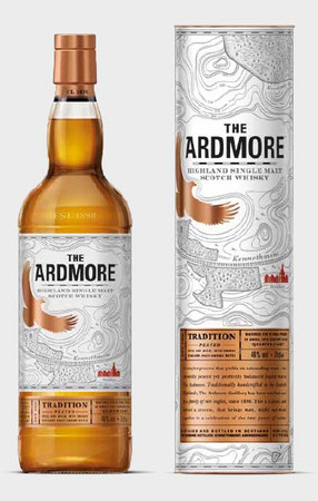 ARDMORE  Tradition Peated - Highland Single Malt Whisky 46% 1x1,0L