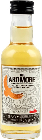 ARDMORE LEGACY -  Highland Single Malt Whisky 40% 1x0,05L Miniatur