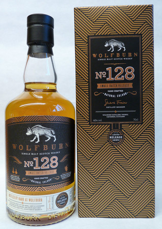 WOLFBURN No.128 Small Batch Release - HIGHLAND SINGLE MALT SCOTCH WHISKY 1x0,7L 46% vol.