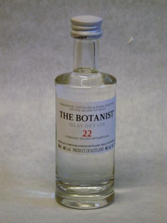 THE BOTANIST - ISLAY DRY GIN - 1x0,05L 46% vol. Miniatur