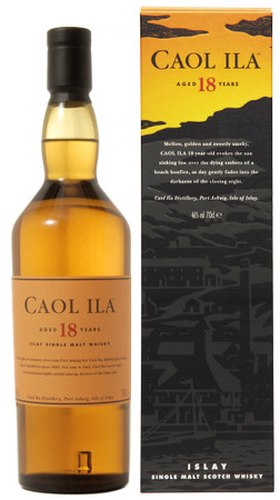 CAOL ILA 18 Jahre Islay Single Malt Scotch Whisky 43% 0,7L