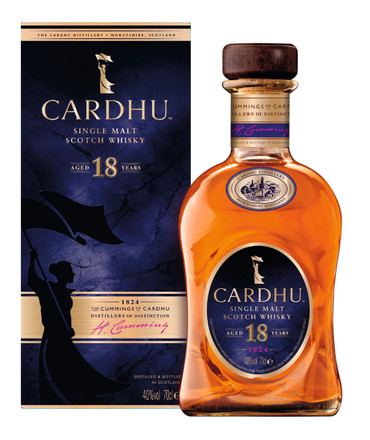 CARDHU 18 Years Old Speyside Single Malt Whisky 1x 0,70L 40%vol. – Bild 1