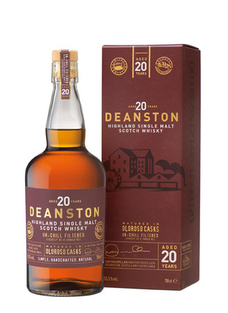 Deanston 20 Years - Highland Single Malt Scotch Whisky 1x0,7L 55,3% vol