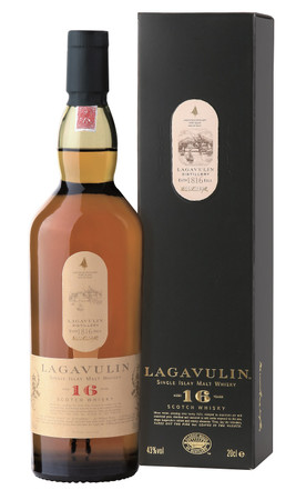 Lagavulin 16 Years Old  Single Islay Malt Whisky - 1x 0,70L 43%vol