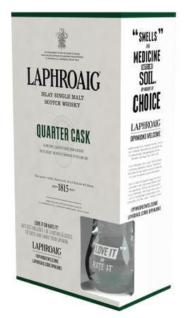 LAPHROAIG QUARTER CASK - Gift Set - Single Islay Malt Whisky 48% 1x0,70L – Bild 1