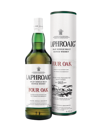 LAPHROAIG FOUR OAK -  Single Islay Malt Whisky 40% 1x1,00L