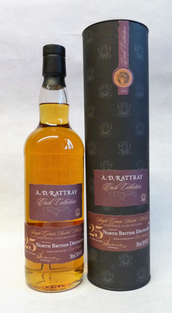 A.D.Rattray - North British, 1991, 25 y.o., 58,5%, sherry butt no. 262058 1x0,7L