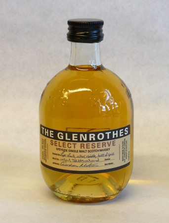THE GLENROTHES SELECT RESERVE - Single Malt Whisky 43% 1x0,10L Miniatur