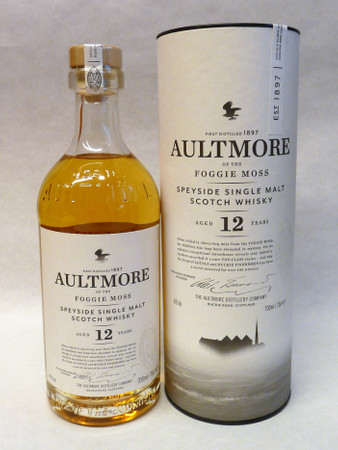 AULTMORE 12 Years 46%Vol. 1x0,7L  - Single Speyside Malt in Geschenkpackung